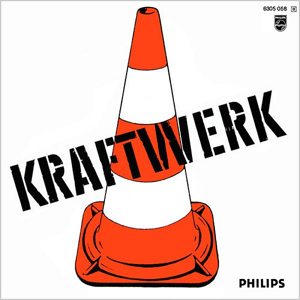 Kraftwerk LP Back Cover