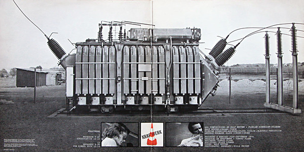 Kraftwerk LP Inside Gatefold Cover