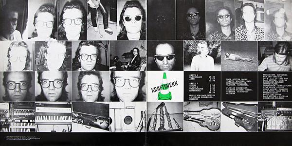 Kraftwerk 2 LP Inside Gatefold Cover