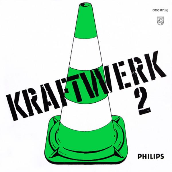 Kraftwerk 2 LP Back Cover
