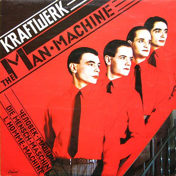 The Man Machine LP Front Cover