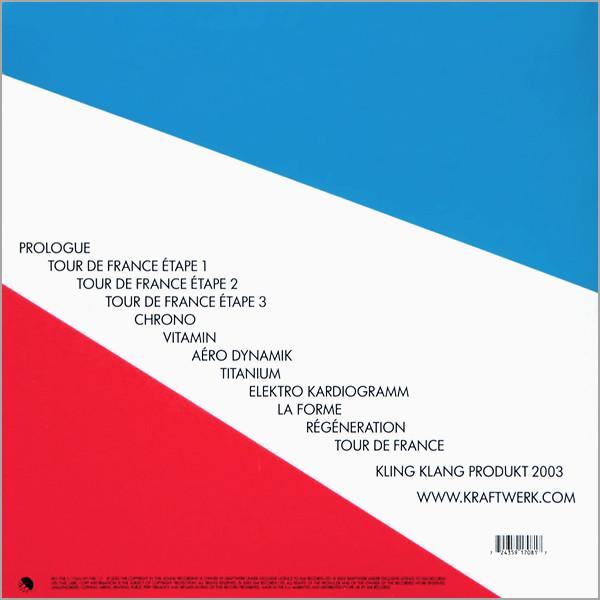 Tour De France Soundtracks LP Back Cover