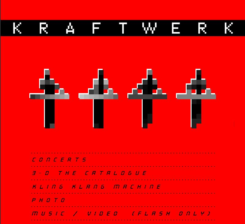 Kraftwerk Website