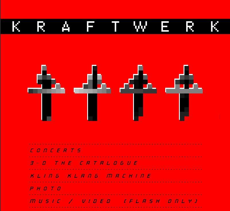 Kraftwerk Website