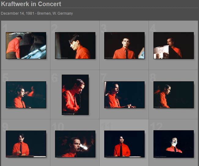 Kraftwerk In Concert Pictures